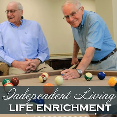 Independent living enrichment opportunities at Keystone Villa at Fleetwood