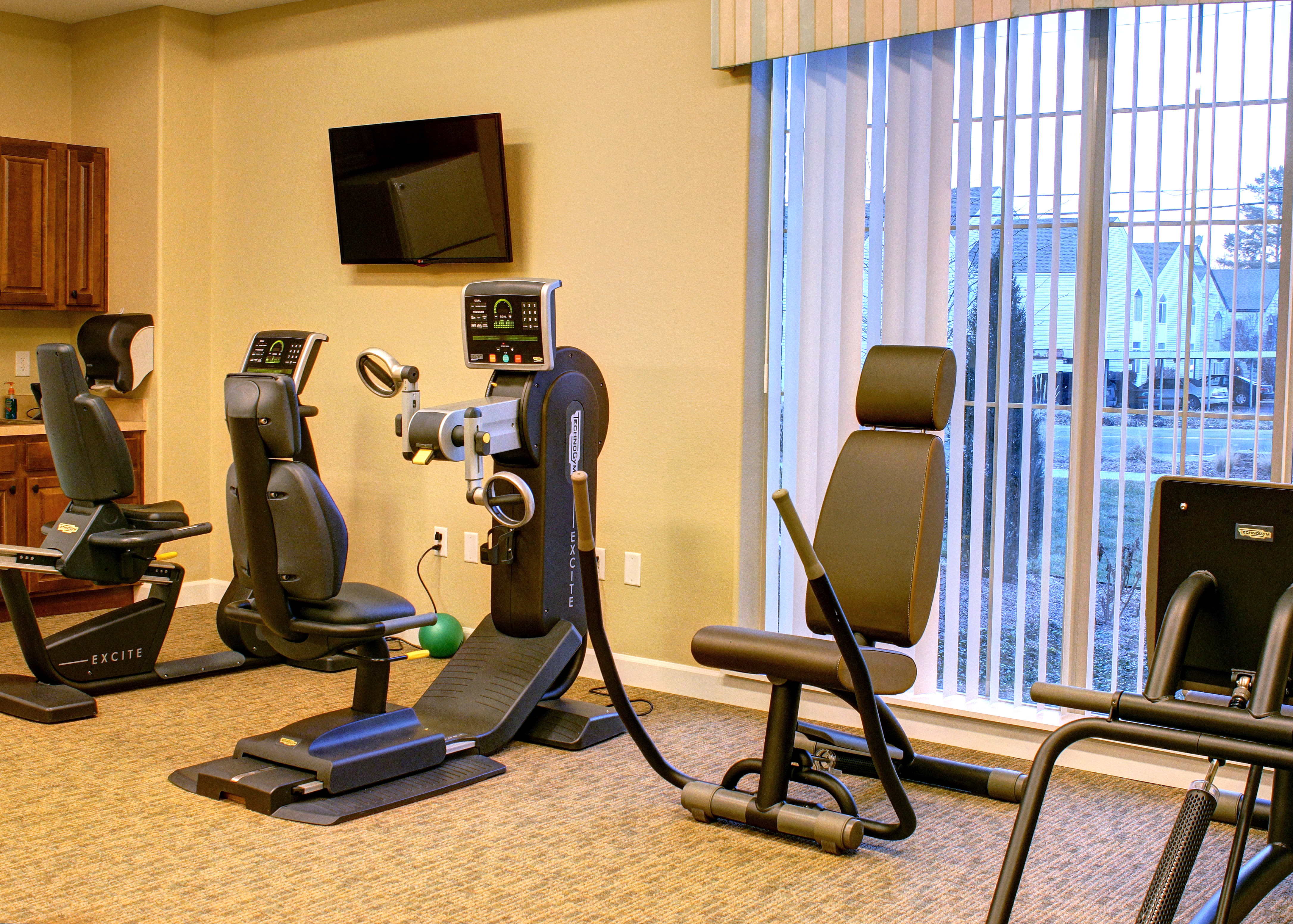 Exercise Equipment at HighPointe