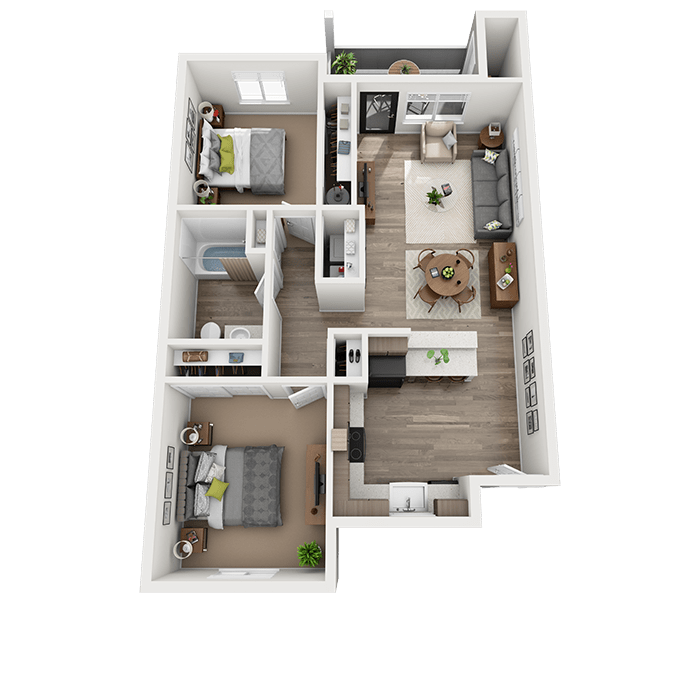 Spacious and Open 2-Bedroom Apartment in Vancouver