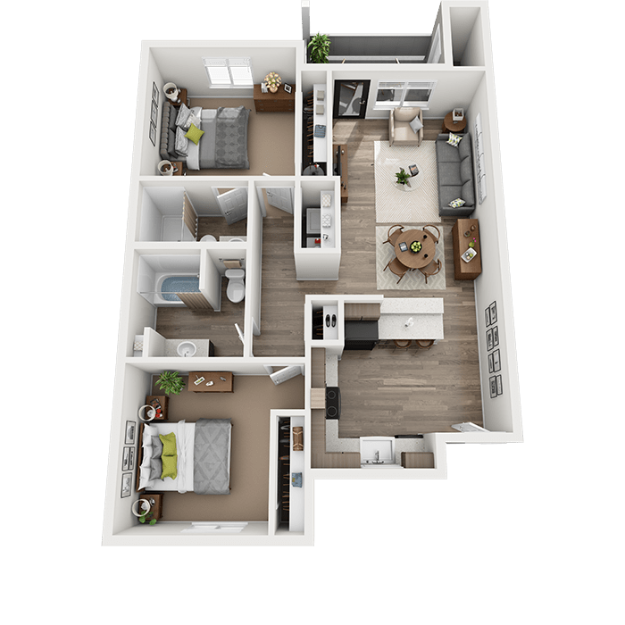 Spacious 2-Bedroom Apartment in Vancouver