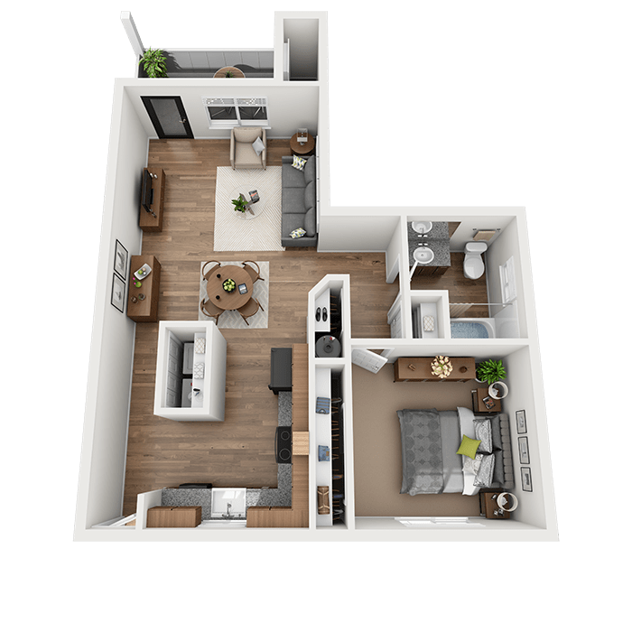 1, 2 & 3 Bedroom Apartments For Rent In Vancouver, WA