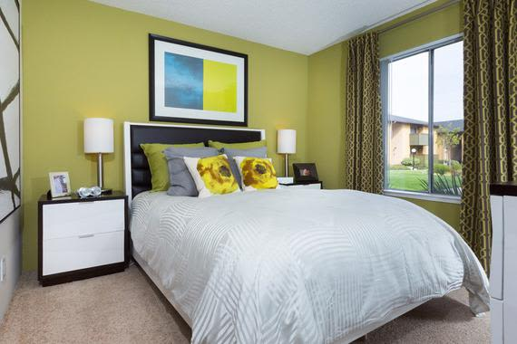 Sunnyvale apartments include spacious bedrooms