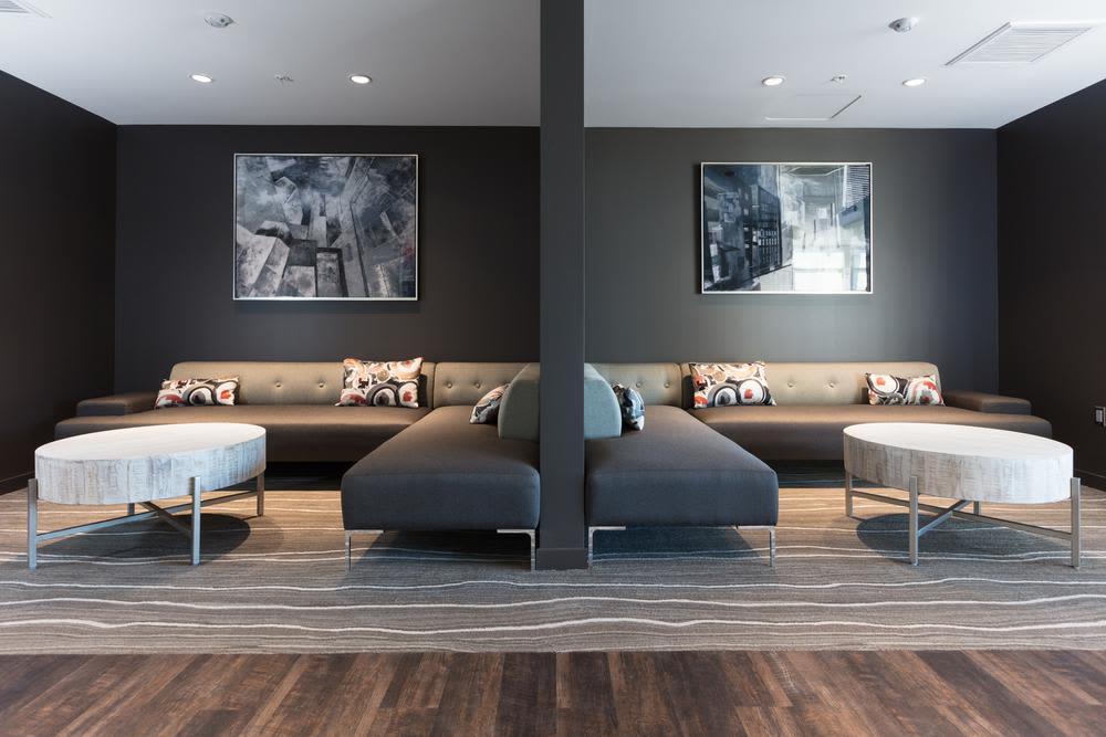 Beautiful sofas at Lyric in Walnut Creek, California