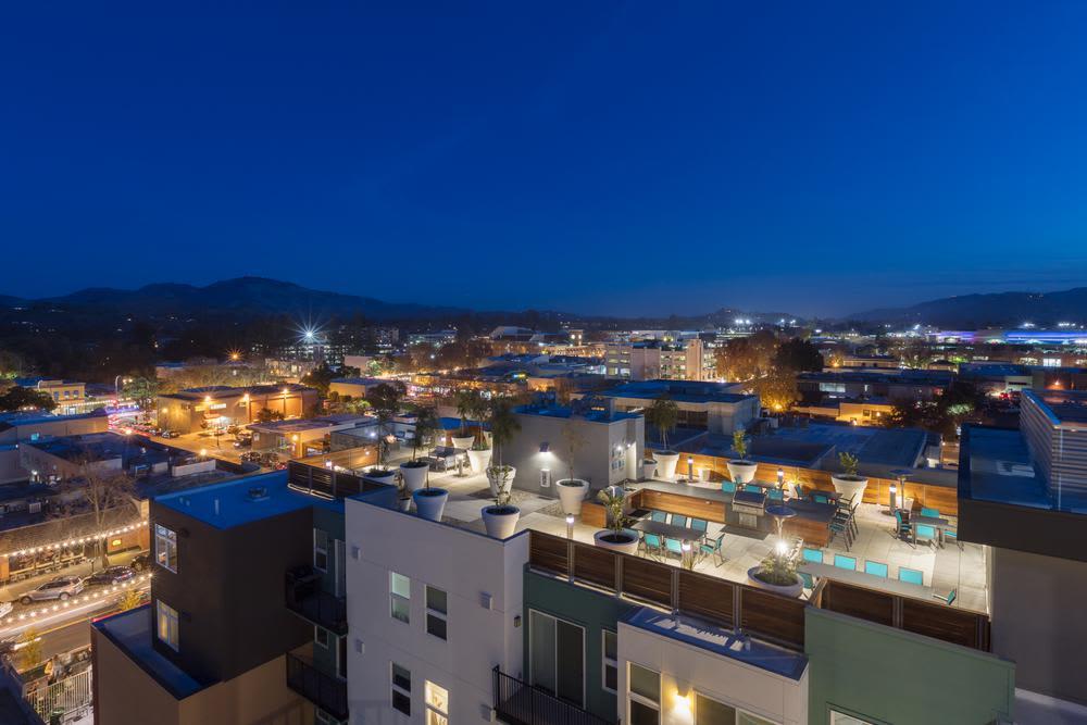 Exterior view of Lyric in Walnut Creek, CA
