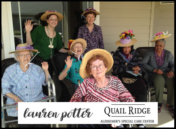 Lauren Potter | Quail Ridge Alzheimer's Special Care Center