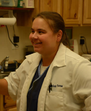Dr. Melinda Thomas-Deal at Morgantown Animal Hospital