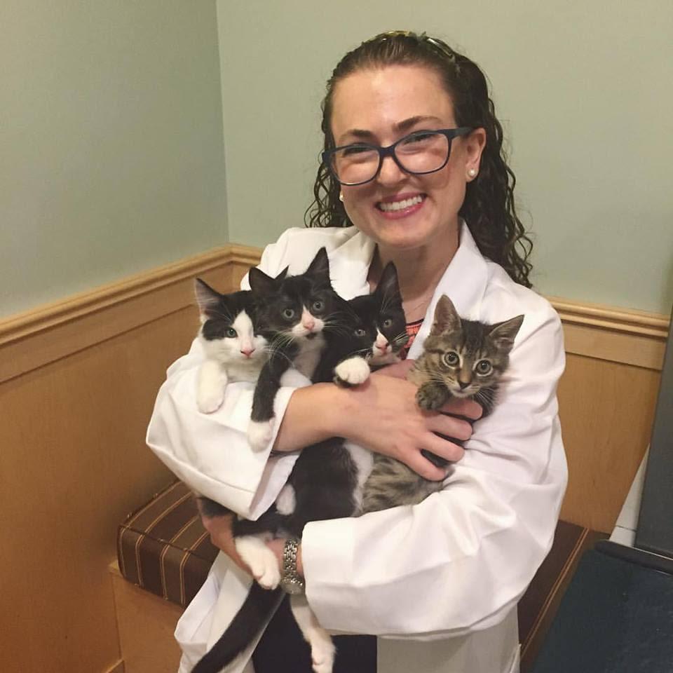 Sarah Schoenhut at Symphony Veterinary Center
