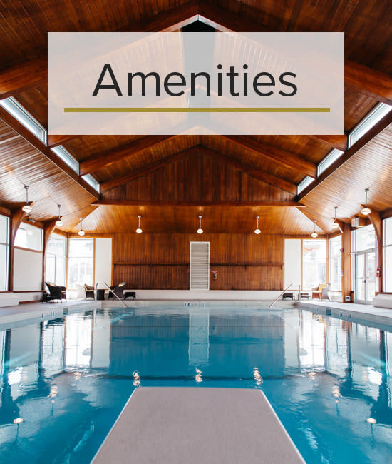 Our Amenities for Glenmore Gardens in Calgary, Alberta.