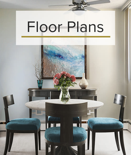 Our Floor Plans for Glenmore Gardens in Calgary, Alberta.