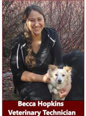 Becca, Veterinary Technician at Pocatello Animal Hospital