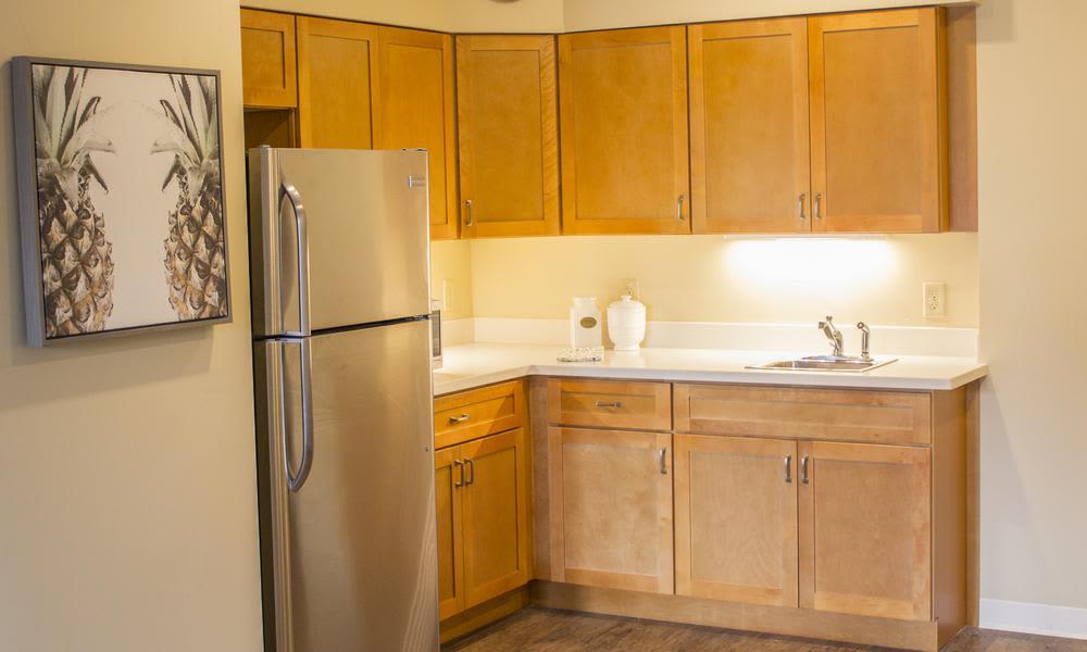 Beautiful kitchen at Bridgewater Park in Ocala, Florida