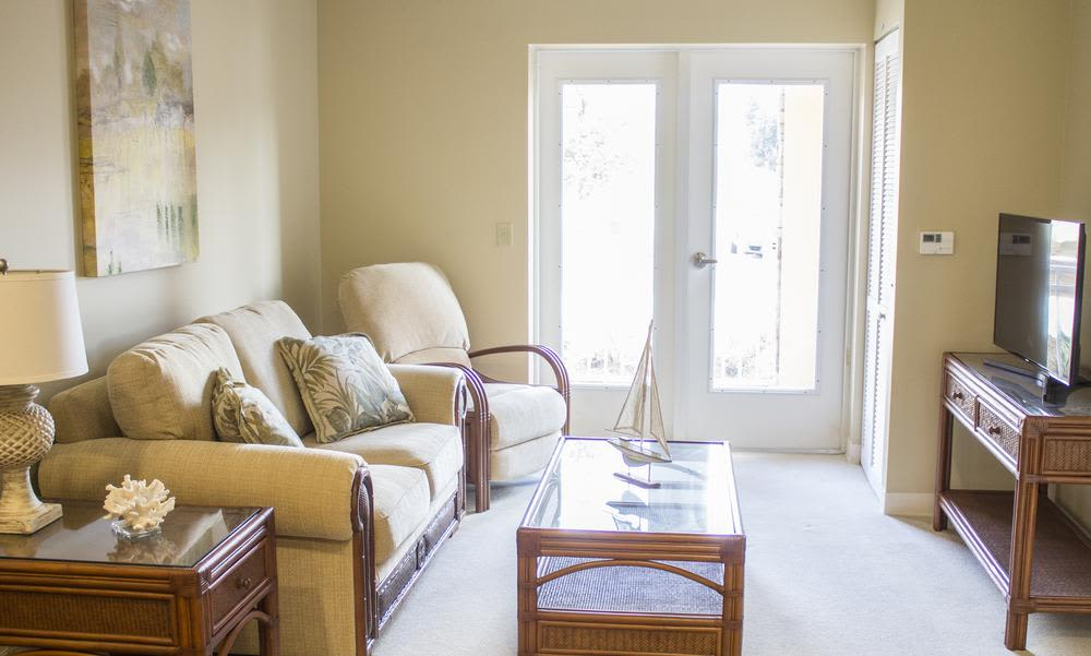 Spacious living room at Ocala, Florida