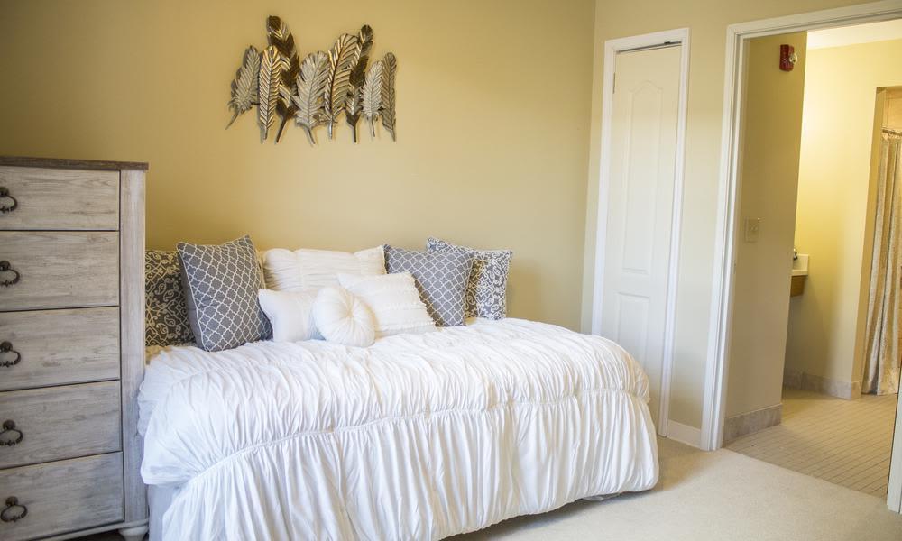 Bedroom at Bridgewater Park in Ocala, Florida