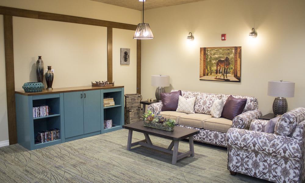 Living room at Bridgewater Park