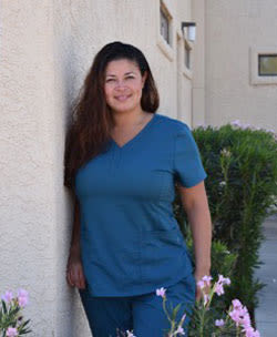 Chasity, Office Manager, at Oro Valley animal hospital