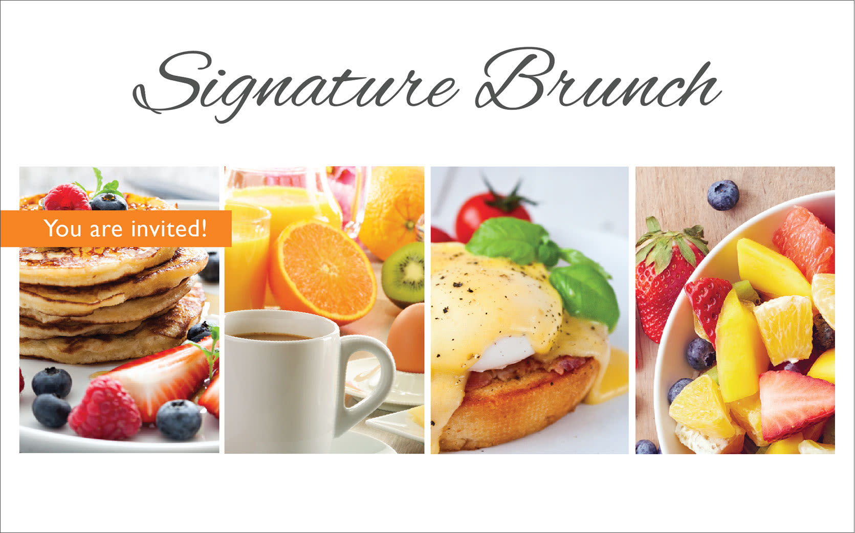 Signature brunch at the senior living community in Petaluma