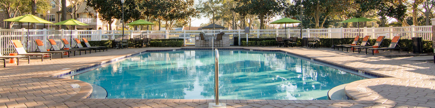 Luxury amenities at the apartments for rent in Winter Park