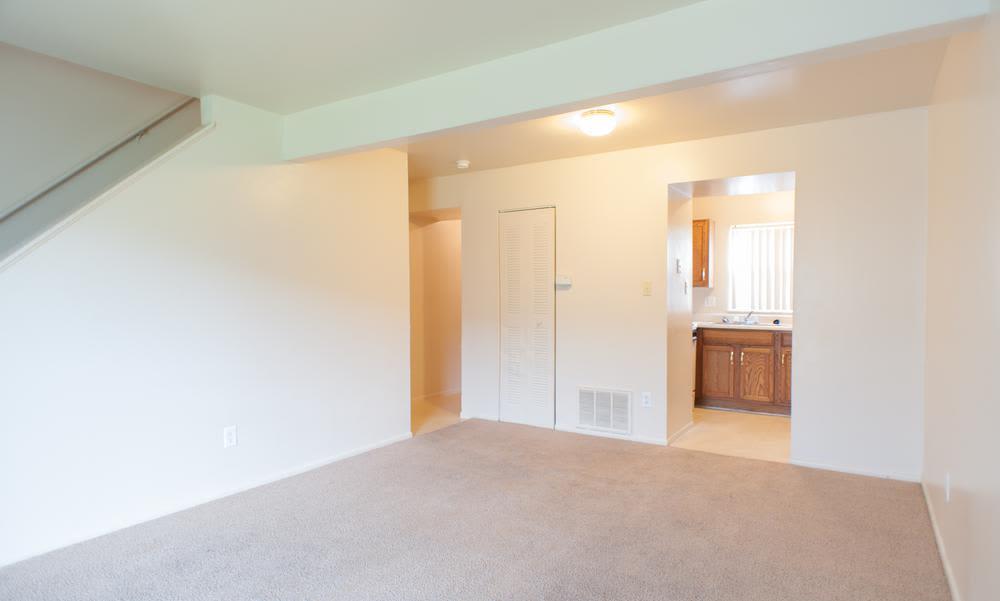The beautiful bedroom at Chapel Oaks Apartments