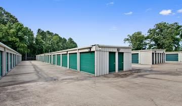 Storage units at StorageMax Luckney