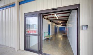 Entryway at StorageMax Byram