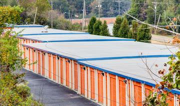 Storage units at StorageMax Metro Center