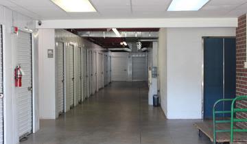 Storage units at StorageMax Midtown