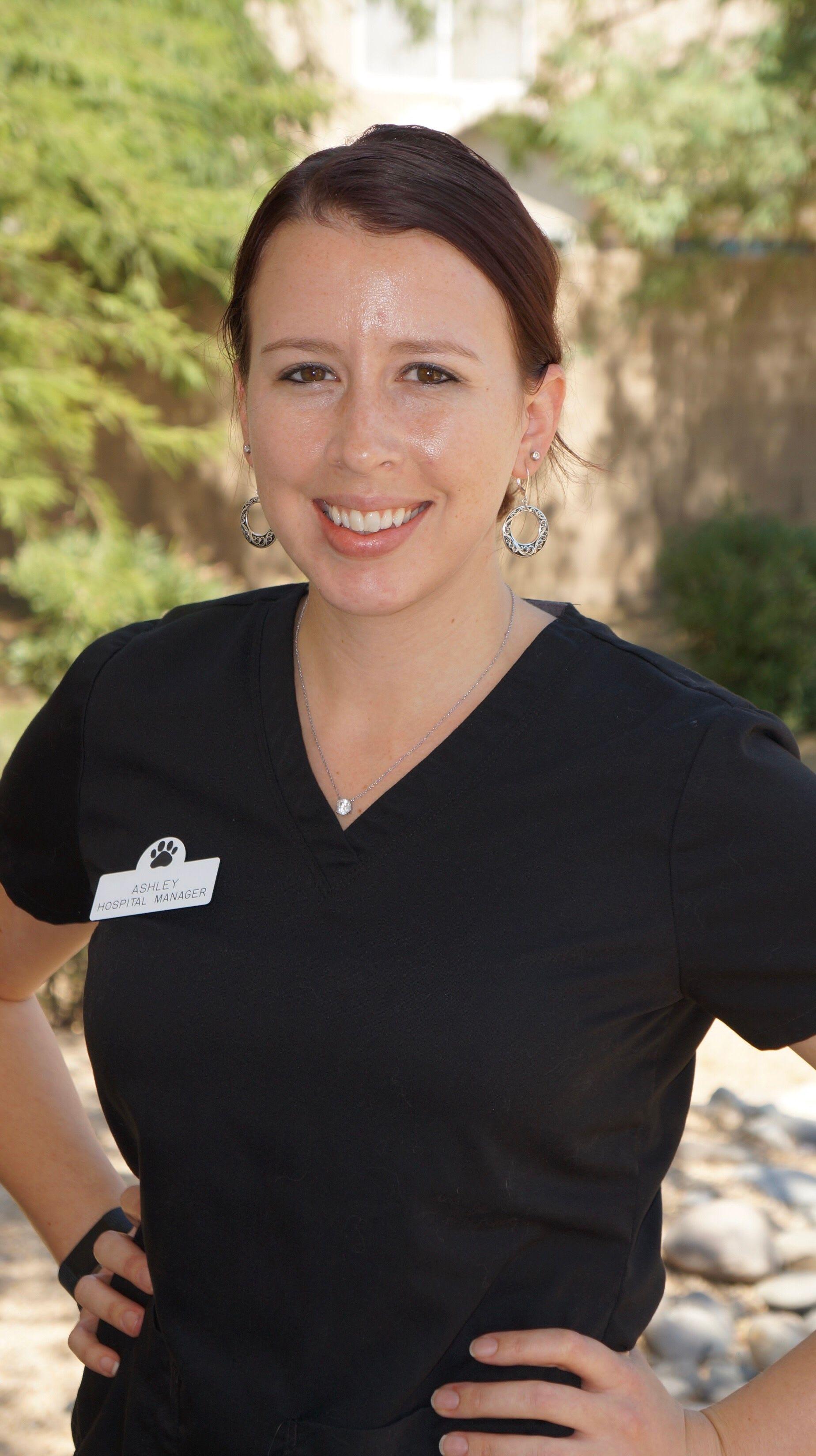 Ashley, Prestige Animal Clinic manager