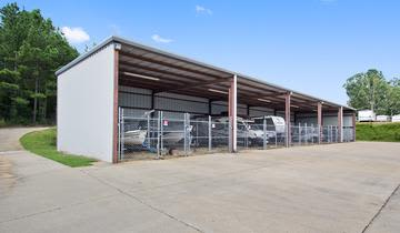 Boat storage units at StorageMax Crossgates