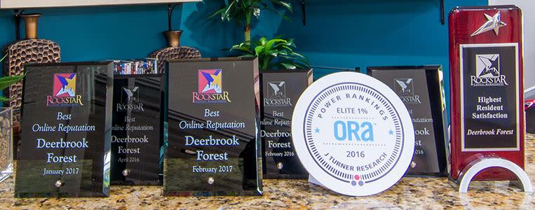 Deerbrook Forest Apartments Awards