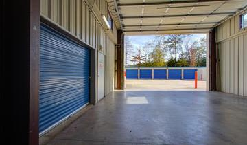 Storage units at StorageMax Tupelo