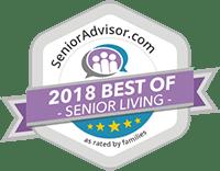 2018 best of senior living award for Arbour Square of Harleysville in Harleysville, PA