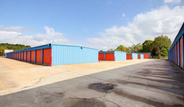 Storage units at StorageMax Southwest