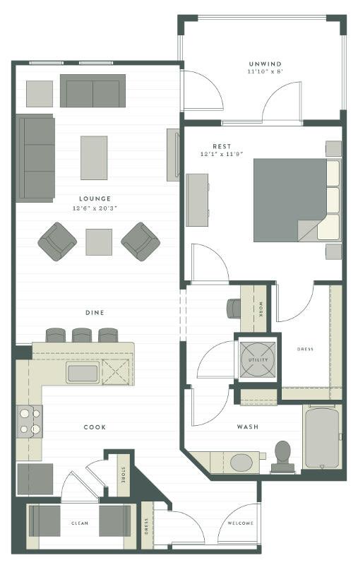 Luxury Studio, 1, 2 & 3 Bedroom Apartments in Charleston, SC