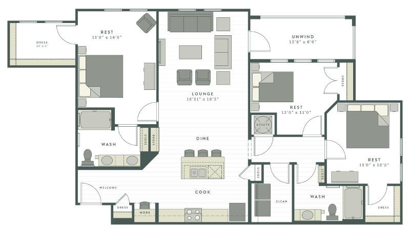 Luxury Studio 1 2 3 Bedroom Apartments In Charleston Sc
