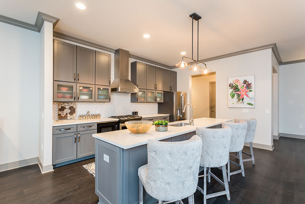 Waters Edge Apartments offers a luxury kitchen in Webster, New York