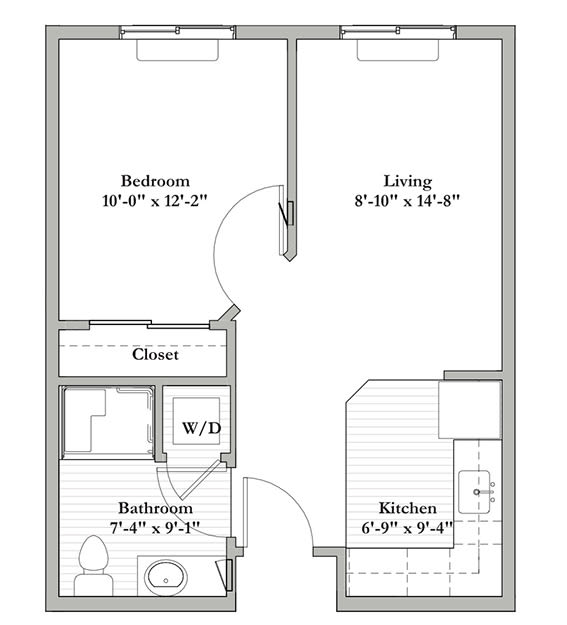 B2 - One Bedroom / One Bath