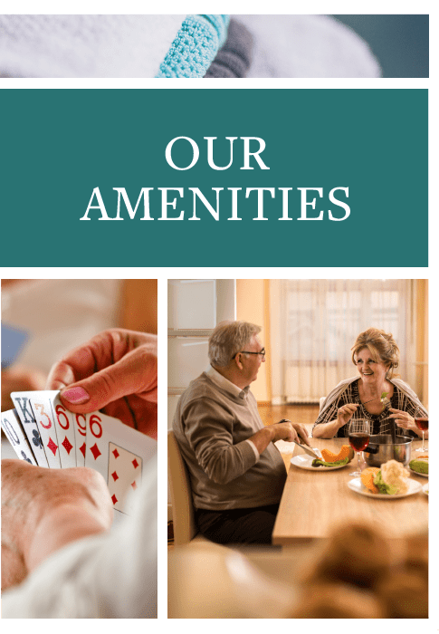 Amenities at Riverview Terrace in McMinnville, Tennessee