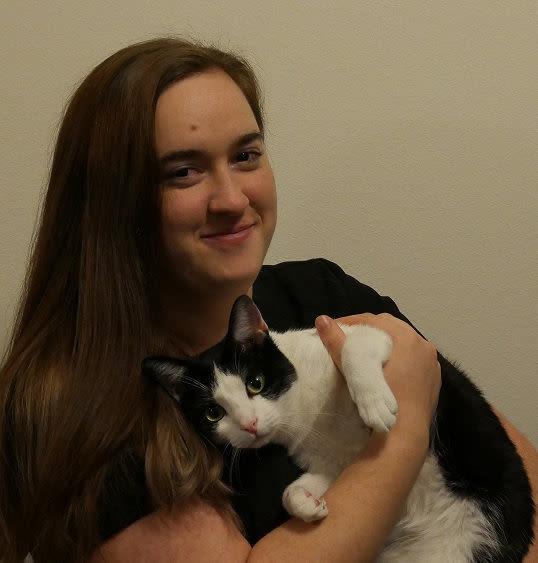 Victoria at Care Animal Hospital