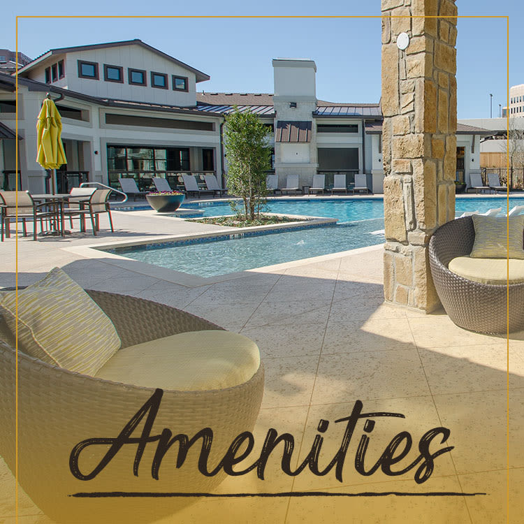 Amenities at Domain at Midtown Park