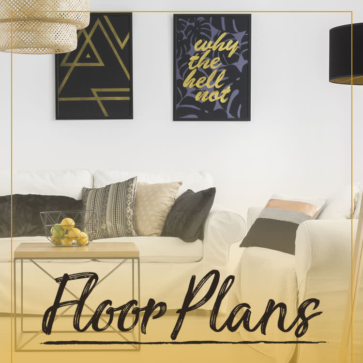 Floor plans at Domain at Midtown Park