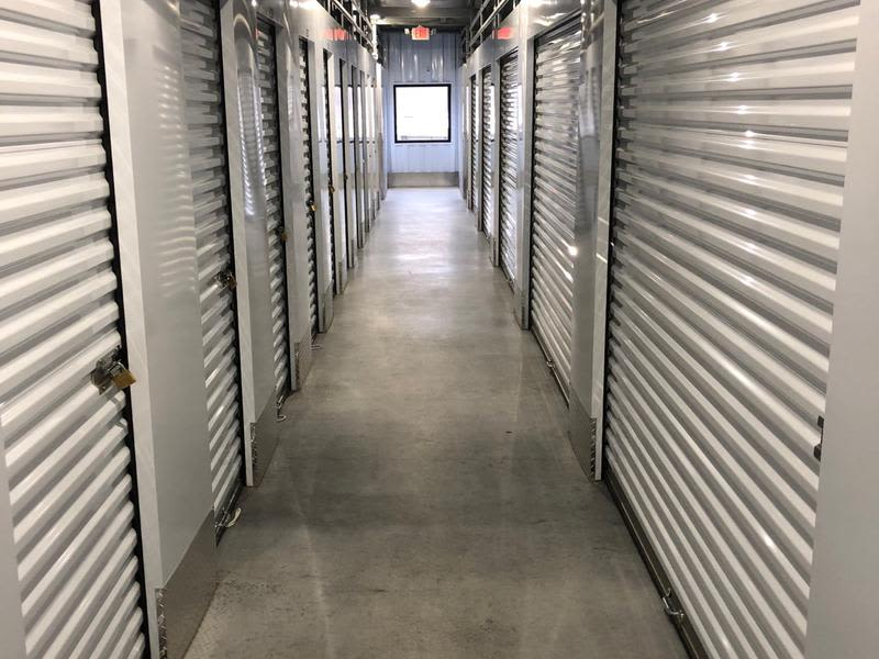 Storage units at CT SELF STOR in Rocky Hill