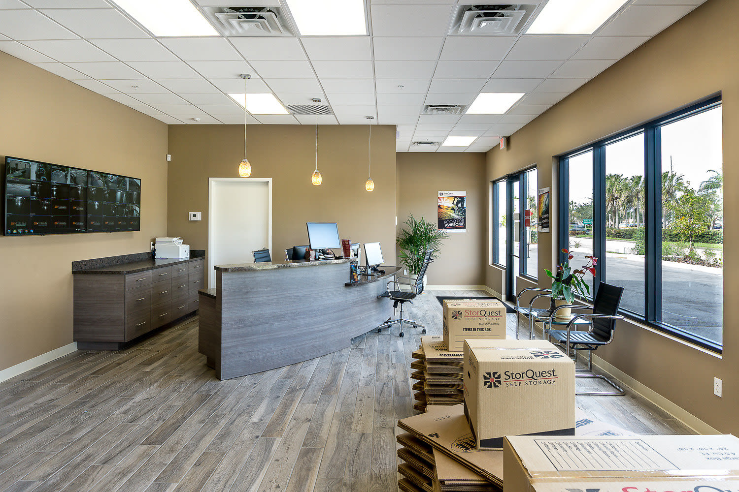 Leasing office at StorQuest Self Storage in St Cloud, FL