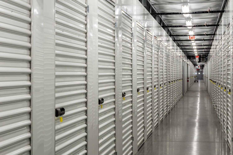 Interior units at StorQuest Self Storage in St Cloud, FL