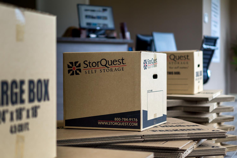 Merchandise at StorQuest Self Storage in St Cloud, FL