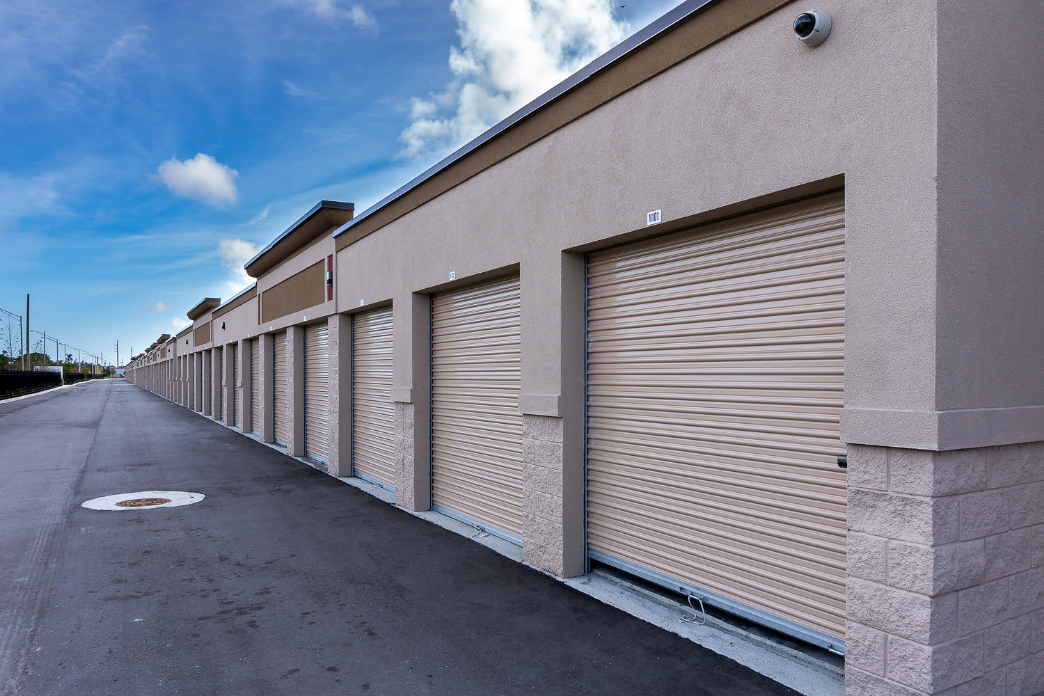 Exterior units at StorQuest Self Storage in St Cloud, FL
