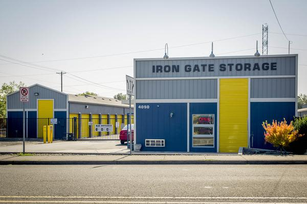 Exterior view of Iron Gate Storage in Beaverton, OR