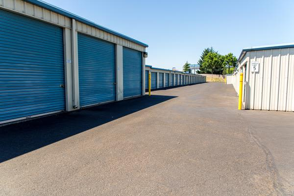 Storage units at Iron Gate Storage in Vancouver, WA