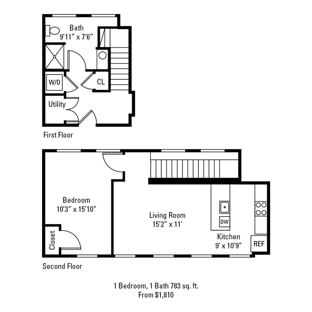1 Bedroom, 1 Bath 783 sq. ft. apartment at The Linc in Rochester, NY