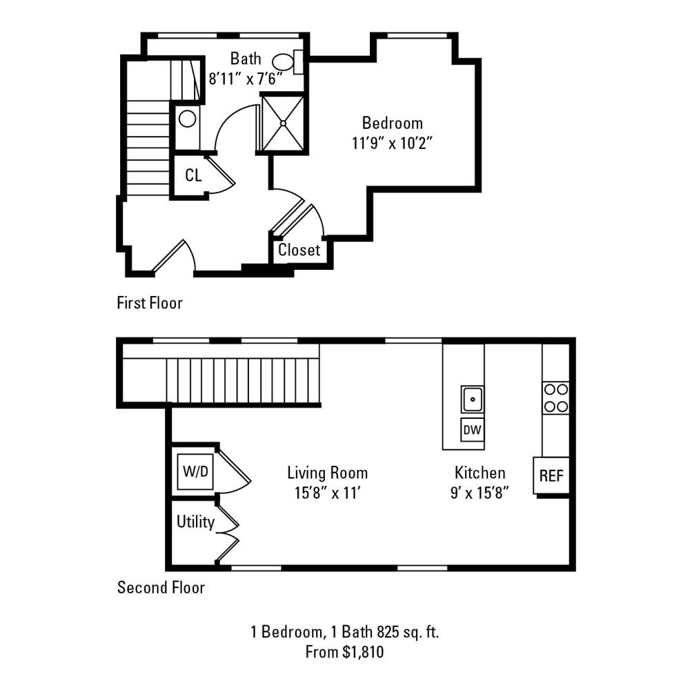 1 Bedroom, 1 Bath 825 sq. ft. apartment at The Linc in Rochester, NY