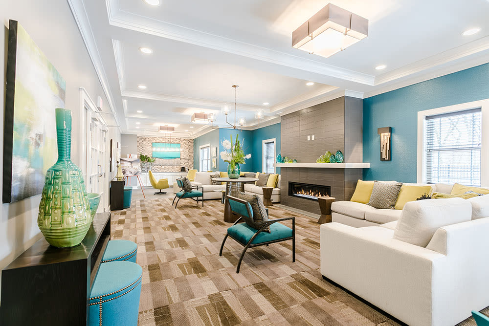 Beautiful Lounge at Ellison Heights Apartments in Rochester, New York